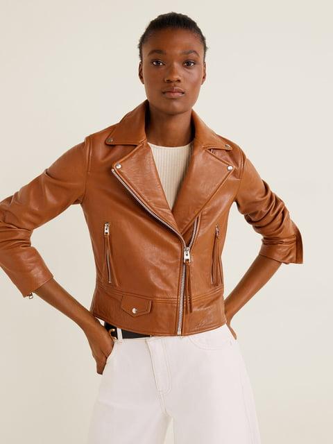 Куртка коричнева Mango 5188749
