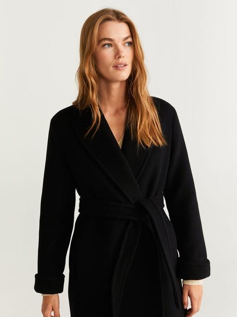 Пальто чорне Mango 5201566