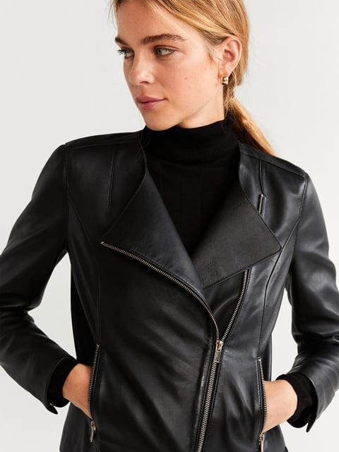 Куртка чорна Mango 5204463