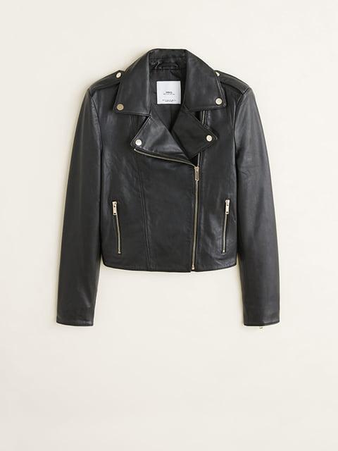 Куртка чорна Mango 5204474