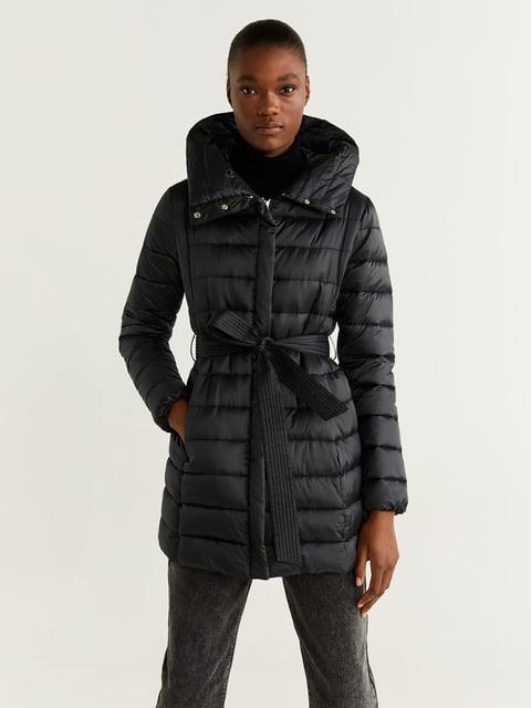 Куртка чорна Mango 5216453