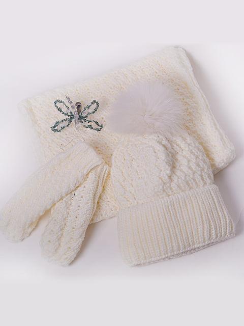 Комплект: шапка, хомут і рукавички Monleo 5227636
