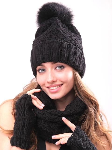 Комплект: шапка, хомут і рукавички Monleo 5227691