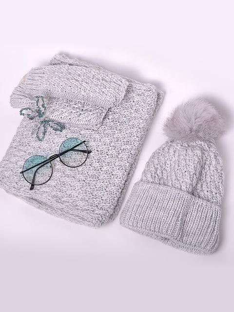 Комплект: шапка, хомут і рукавички Monleo 5227702