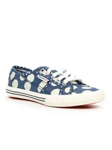 Кеды синие в горох Pepe Jeans 3360394