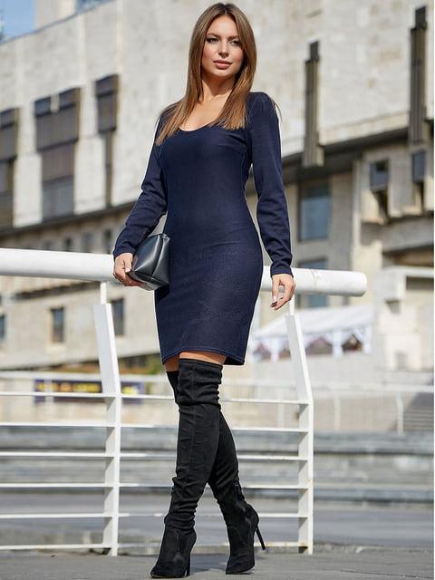 Платье темно-синее Seventeen 5228426