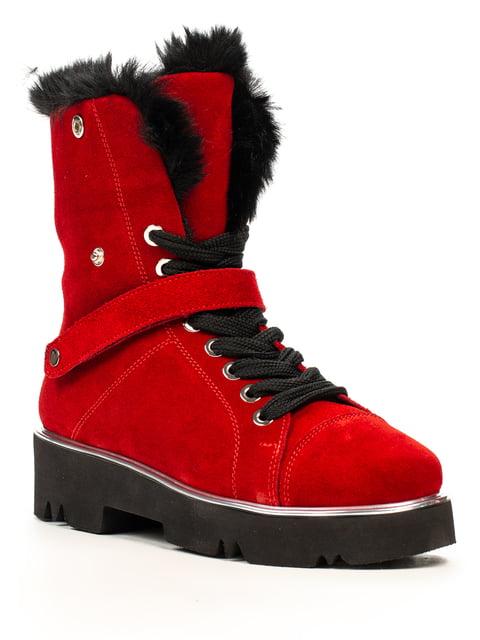 Ботинки красные Fabiani 5222398