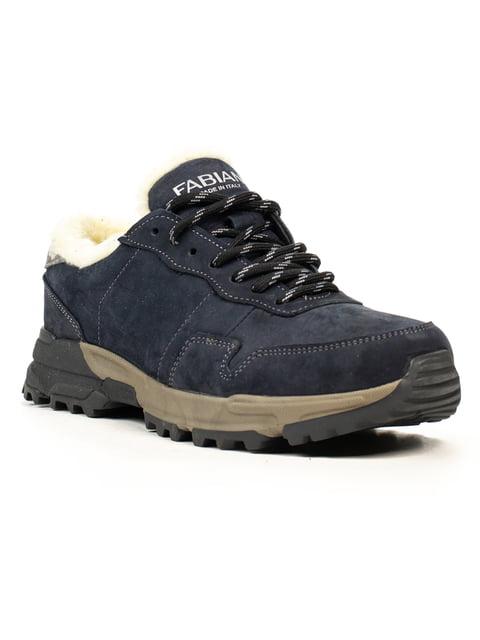 Кроссовки темно-синие Fabiani 5222404