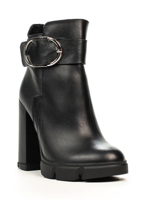 Ботинки черные Fabiani 5222395