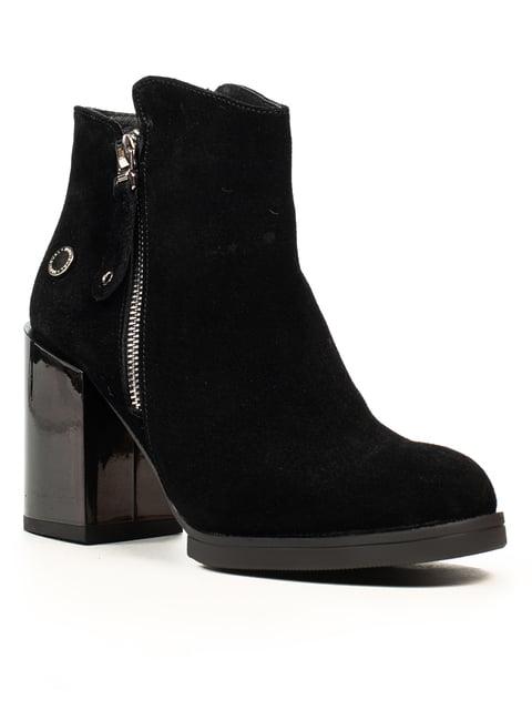 Ботинки черные Fabiani 5222397