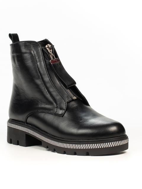 Ботинки черные Fabiani 5222411