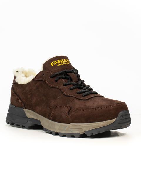 Кроссовки коричневые Fabiani 5222406