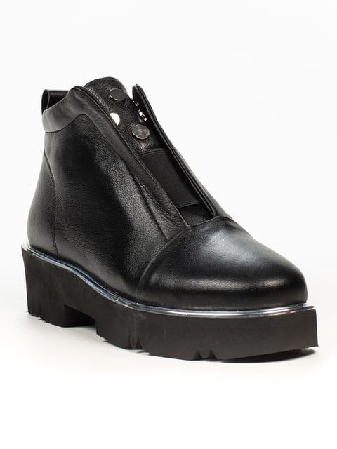 Ботинки черные Fabiani 5222400