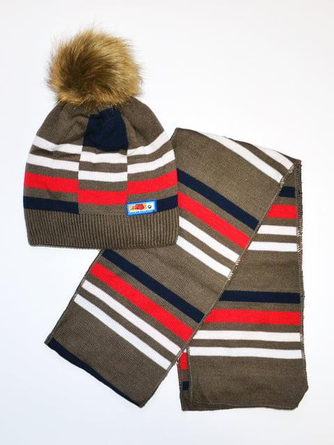 Комплект: шапка и шарф Kraft 5231135