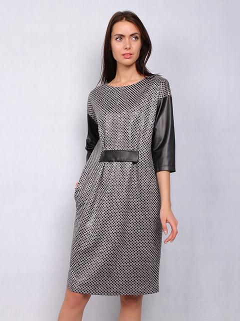 Платье в рисунок Lesya 4836845