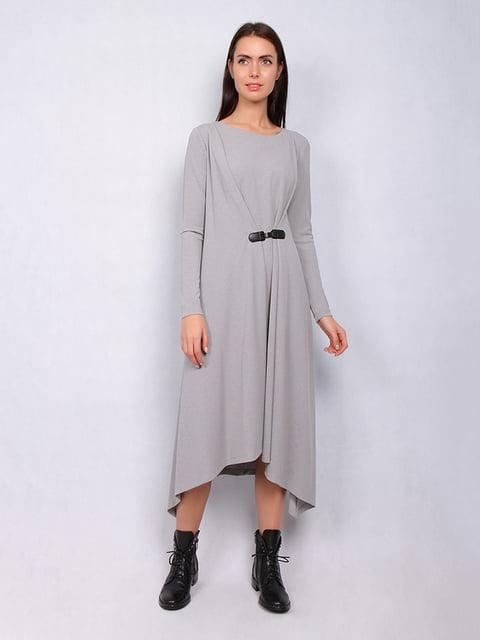 Платье серое Lesya 4836878