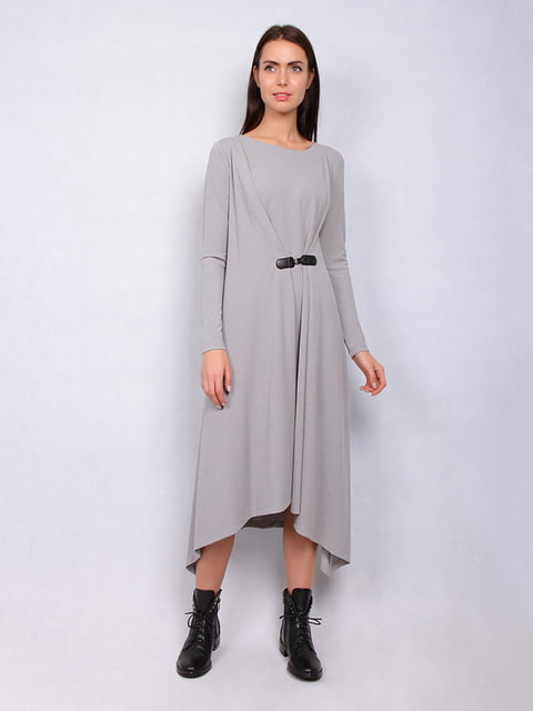 Сукня сіра Lesya 4836878