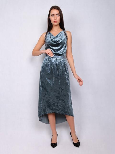 Платье бирюзовое Lesya 4973729
