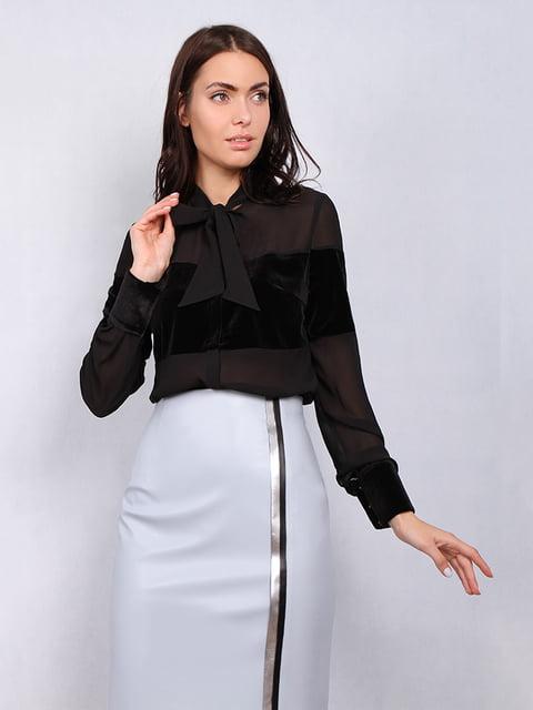 Блуза черная Lesya 5109680