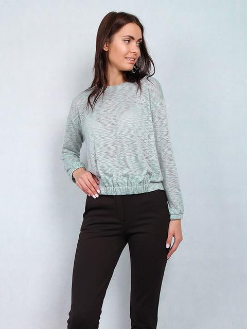 Блуза мятного цвета Lesya 5109683