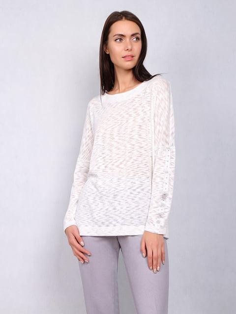 Блуза молочного кольору Lesya 5109707