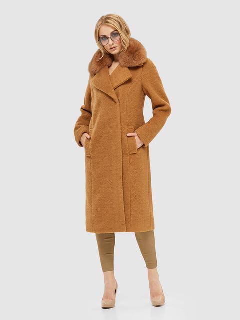 Пальто карамельного кольору Mila Nova 5224777