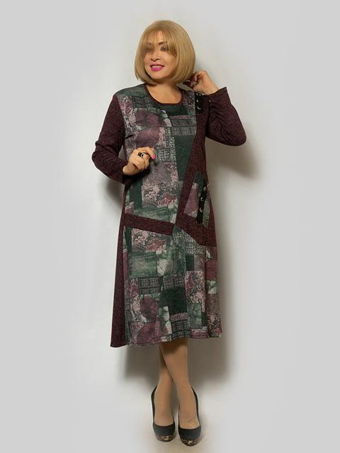 Платье бордовое LibeAmore 5232393