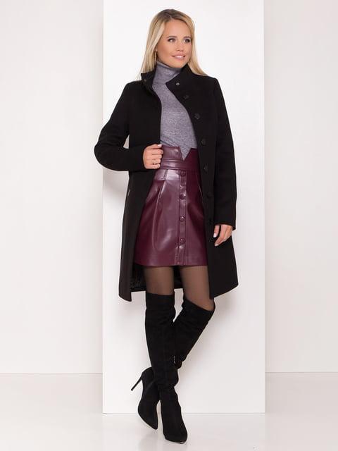 Пальто черное Modus 5239105