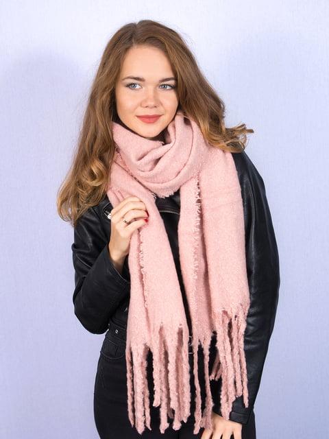 Палантин розовый Fashion Look 5244075