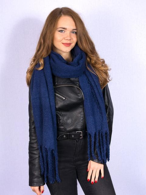 Палантин темно-синій Fashion Look 5244076