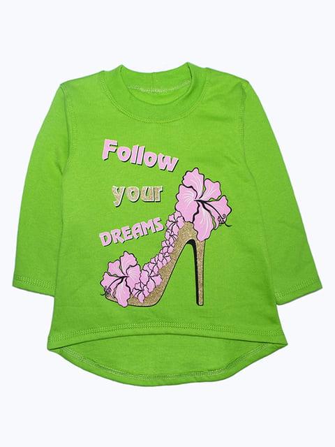 Туніка зелена Малыш 5244421