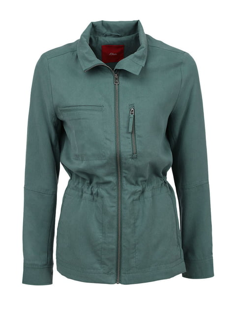 Куртка зелена S.Oliver 5245616