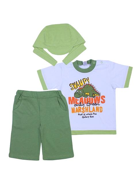 Комплект: футболка, бриджі та бандана Валери текс 5249209