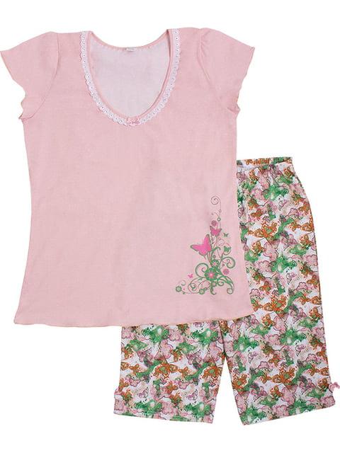 Комплект: футболка та бриджі Валери текс 5249931