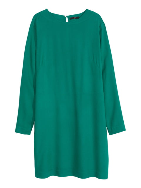 Платье зеленое H&M 5244298