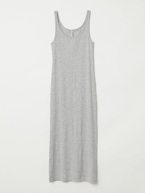 Платье серое H&M 5244307