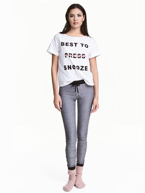 Піжама: футболка і штани H&M 5244369