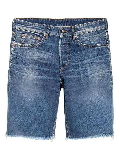 Шорты джинсовые синие H&M 5244389