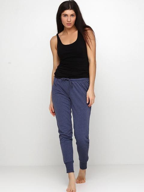 Брюки пижамные синие H&M 5244514