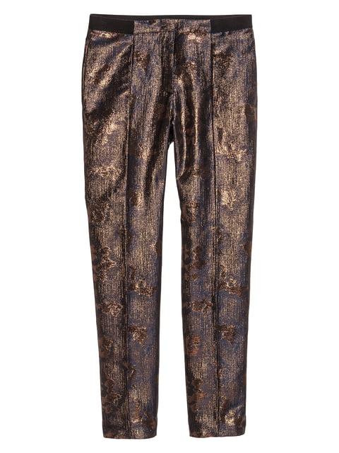 Брюки коричневые H&M 5244528