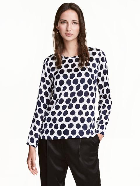 Блуза белая H&M 5244591