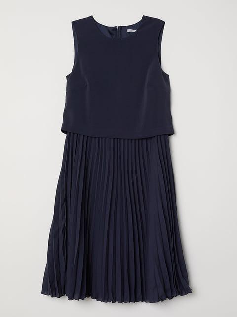 Платье темно-синее H&M 5244657