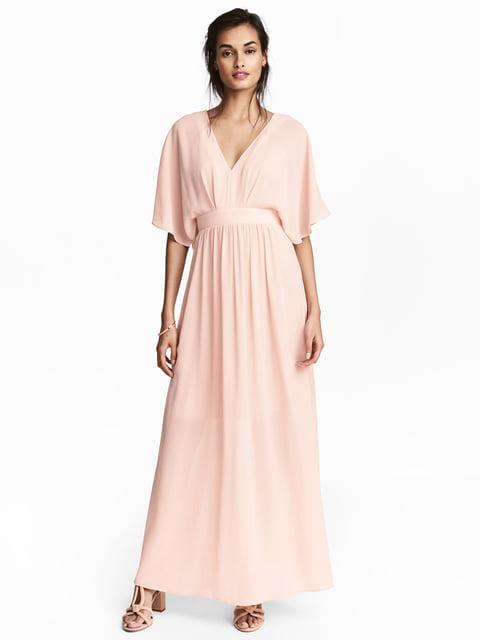 Платье цвета пудры H&M 5244754