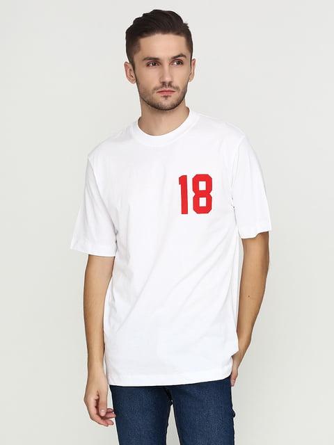 Футболка белая H&M 5244762