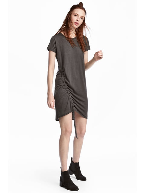 Платье темно-серое H&M 5244773