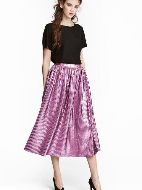 Юбка фиолетовая H&M 5244798