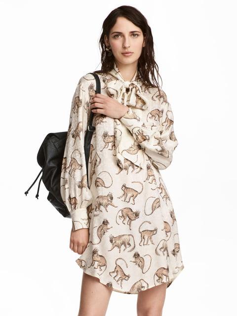 Платье молочного цвета H&M 5244866