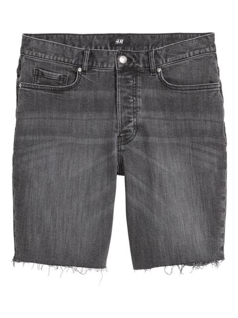 Шорты джинсовые серые H&M 5244925