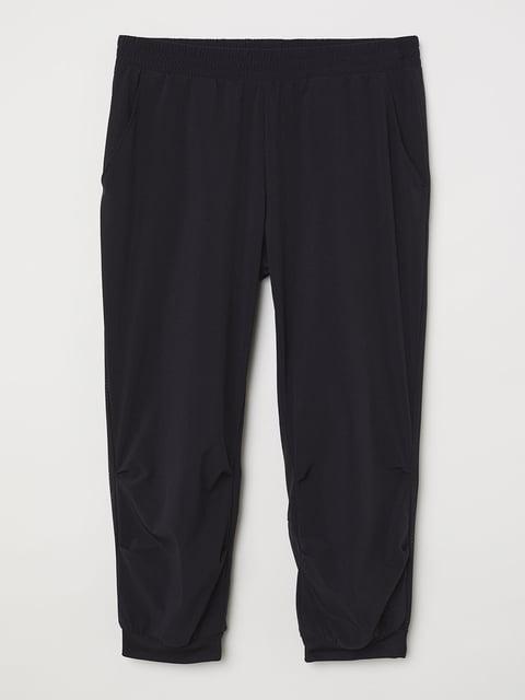 Бриджи черные H&M Sport 5245001