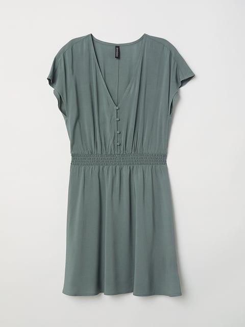 Платье зеленое H&M 5245027